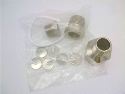 """Picture of 1/4""""OR 3/8""""NICKEL STUFFING BOX For Robertshaw Part# 4650-011"""