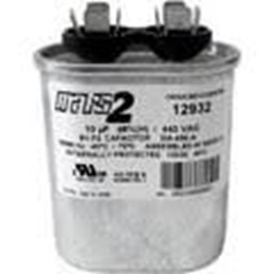 Picture of 10MFD 440V OVAL RUN CAPACITOR For MARS Part# 12032