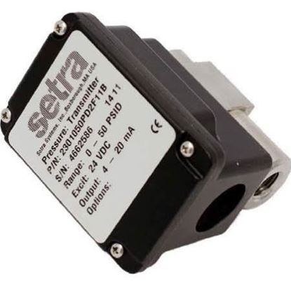 """Picture of 0/100# 1/4"""" #Transducer;4-20mA For Setra Part# 2301100PD2F11B"""