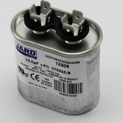 Picture of 10MFD 370V Oval Run Capacitor For MARS Part# 12908