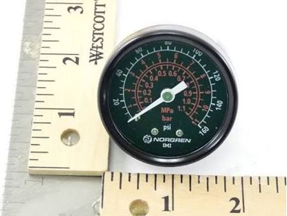 "Picture of 2""Gauge 0/160#,1/4""CenterBack For Nor East Controls Part# 30686409-008"