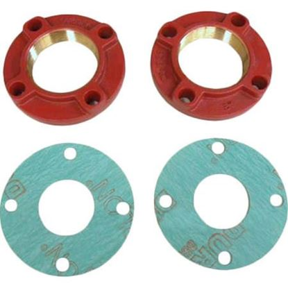 """Picture of 2"""" BRONZE FLANGE SET For Grundfos Part# 91584913"""