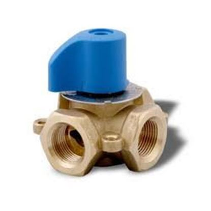 "Picture of 1 1/2"" 4-WAY MIXING VALVE For Tekmar Controls Part# 723"