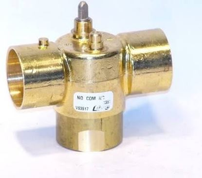 "Picture of 1 1/4"" SWT 3way Steam Valve For Schneider Electric (Erie) Part# VS3517"