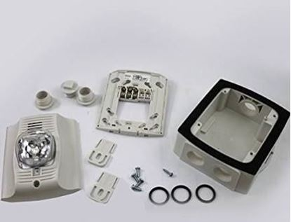 Picture of 2 WIRE OUTDOOR HORN STROBE For Honeywell Analytics Part# P2WHK-P