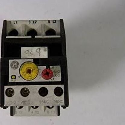 Picture of 2.5-4.0 AMP OVERLOAD RELAY For General Electric Products Part# RT1K