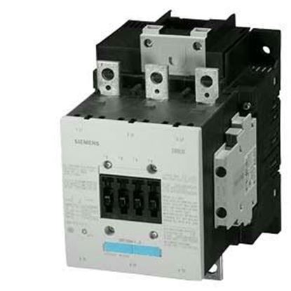 Picture of 120V CONTACTOR 160AMP 2NO/2NC For Siemens Industrial Controls Part# 3RT1054-6AF36