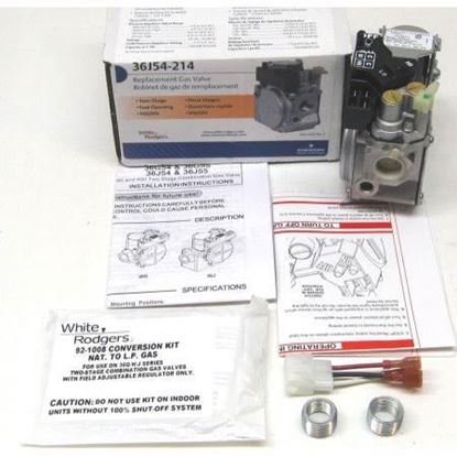"""Picture of 1/2"""" 24vFastOpen 2stage NatLp For Emerson Climate-White Rodgers Part# 36J54-214"""