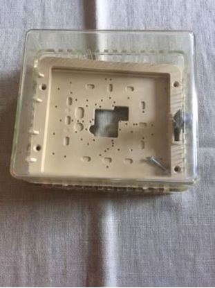 """Picture of ClearTstatGuard 5 1/4x4 5/8"""" For Beko Thermostat Guards Part# BTG-K"""