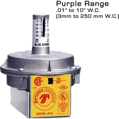 """Picture of .1""""-10"""" DIF-VACUUM-# SWITCH For A.J. Antunes Part# JD-2-PURPLE"""