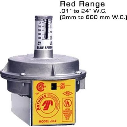 """Picture of .1-24"""" PRESS SWITCH For A.J. Antunes Part# JD-2-RED"""