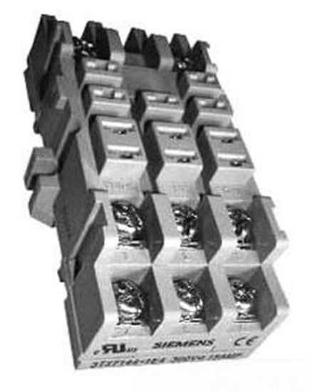 Picture of 11 PIN PNL/DIN RAIL MNT SOCKET For Siemens Industrial Controls Part# 3TX7144-1E4