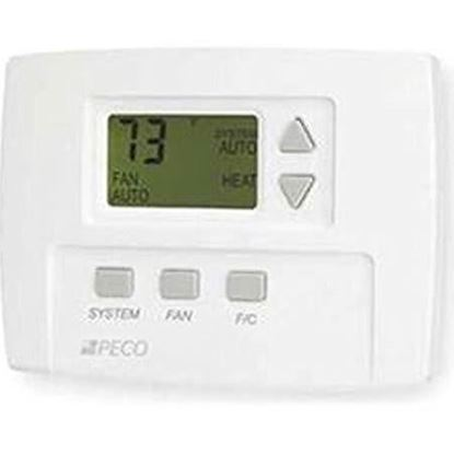 Picture of CommercialElectThermostat3spd For Peco Controls Part# TA170-001