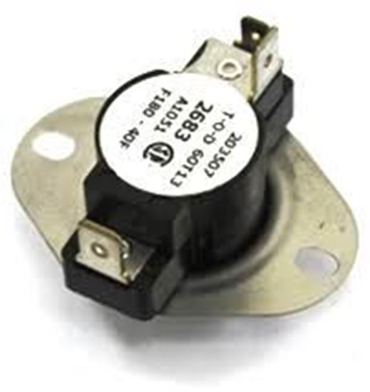 Picture of 140-180F AUTO Limit Switch For Sterling HVAC Part# J11R02683