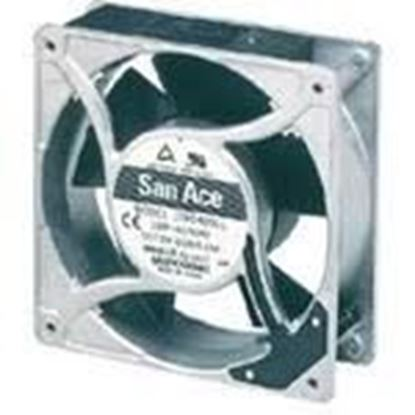 "Picture of 18""Dia 1/2""Bore 4Blade Fan For Sanyo HVAC Part# 6380111589"