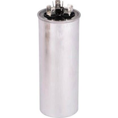 Picture of 45/4MFD 440V Rnd Run Capacitor For Lennox Part# 46W14