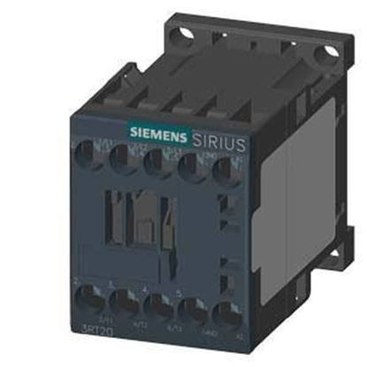 Picture of Size00 9Amp 24VAC Contactor For Siemens Industrial Controls Part# 3RT2016-1AB02