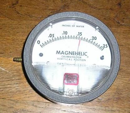 "Picture of -.05/0/.2"" Magnehelic # Gage For Dwyer Instruments Part# 2000-00N"