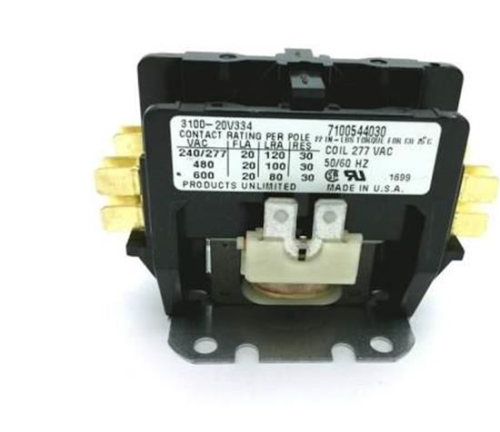 2p  20a 277v Contactor For Titus Hvac Part  10054403