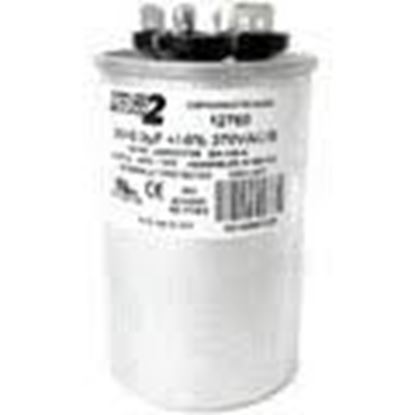 Picture of 20/5MFD 370V Rnd Run Capacitor For MARS Part# 12760