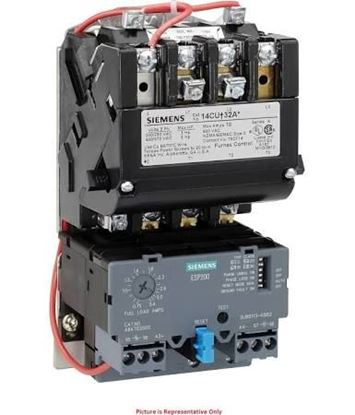 Picture of STARTER,3-12AMPS,OPEN,120V For Siemens Industrial Controls Part# 14BUC32AF