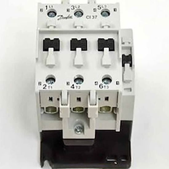 Picture of CI37 110/120V CONTACTOR 80A 3P For Danfoss Part# 037H005623