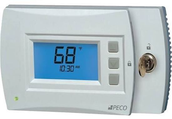 Picture of 3HT/2CL Programmable Stat For Peco Controls Part# 70451