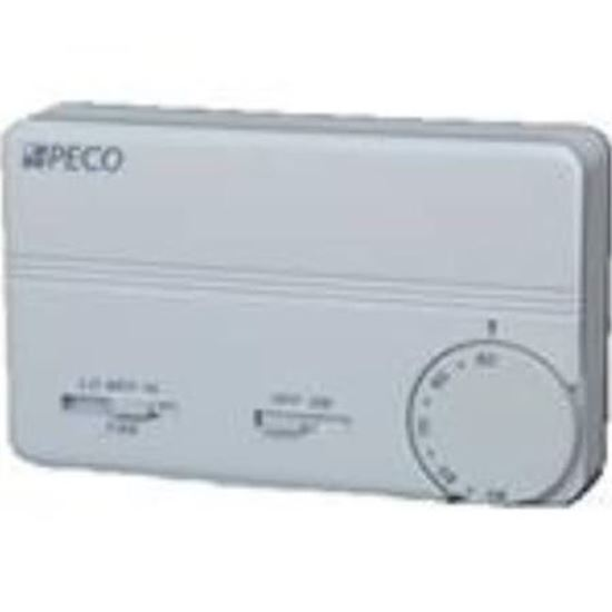 Picture of 24-277V 3spdFan ManC/O Stat For Peco Controls Part# TA155-028