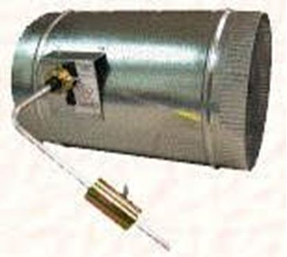 """Picture of 14""""RND STATIC PRESSURE DAMP For EWC Controls Part# PRD-RD-14"""