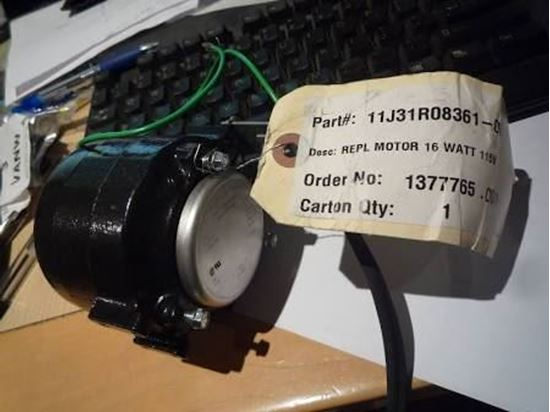 Picture of 115v 16W 1550RPM CCW MOTOR For Sterling HVAC Part# 11J31R08361-001