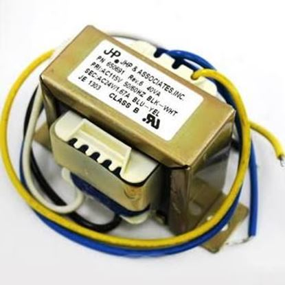 Picture of 115V PRI 24V SEC 40VA TRANSFRM For Raypak Part# 650691