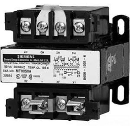 Picture of 208/277-120V 250VA Transformer For Siemens Industrial Controls Part# MT0250F