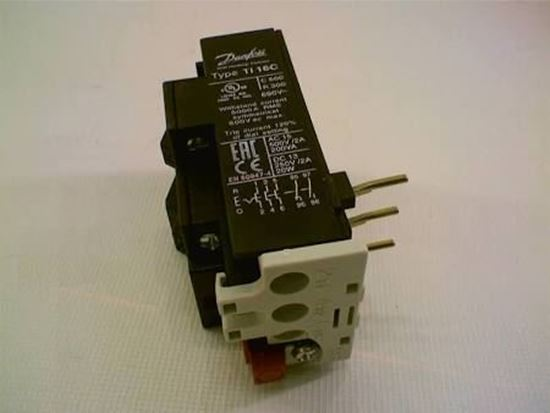 Picture of 19 to 25 Amp Overload Relay For Danfoss Part# 047H0214