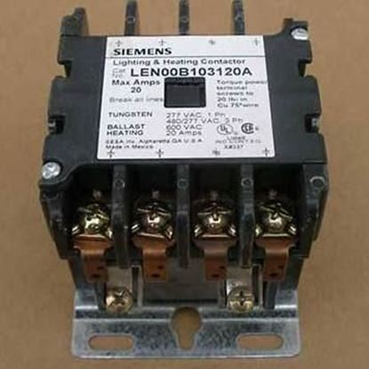 Picture of 20A 0Nc/12No 120Vc Open Cont For Siemens Industrial Controls Part# LCE00C012120A